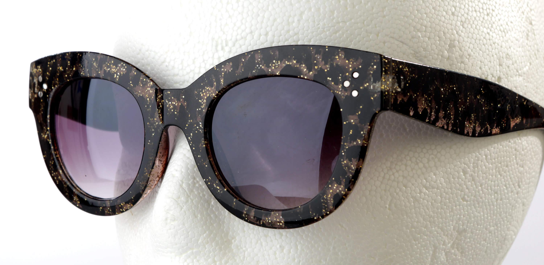 Animal print sunglasses