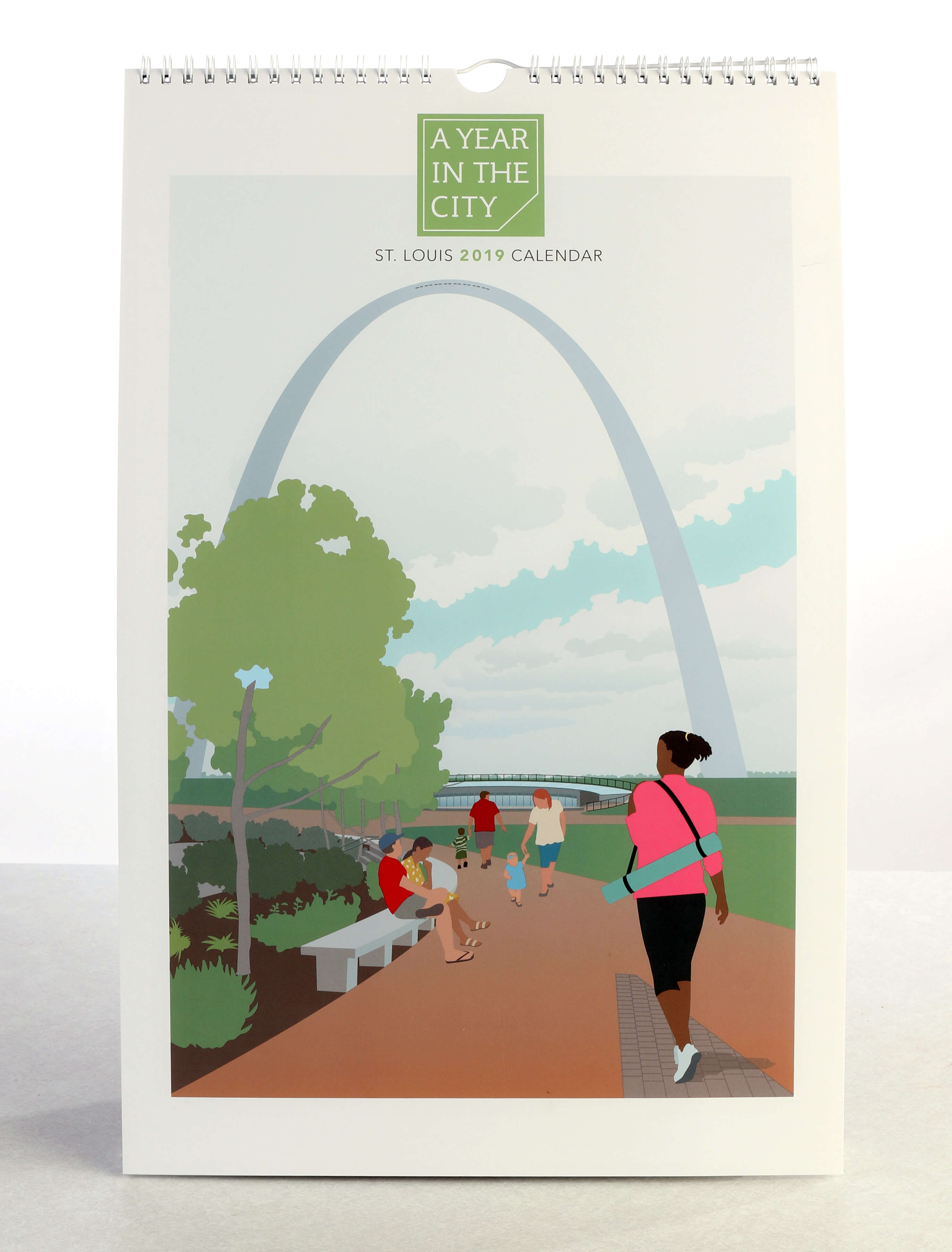 A Year in the City St. Louis calendar