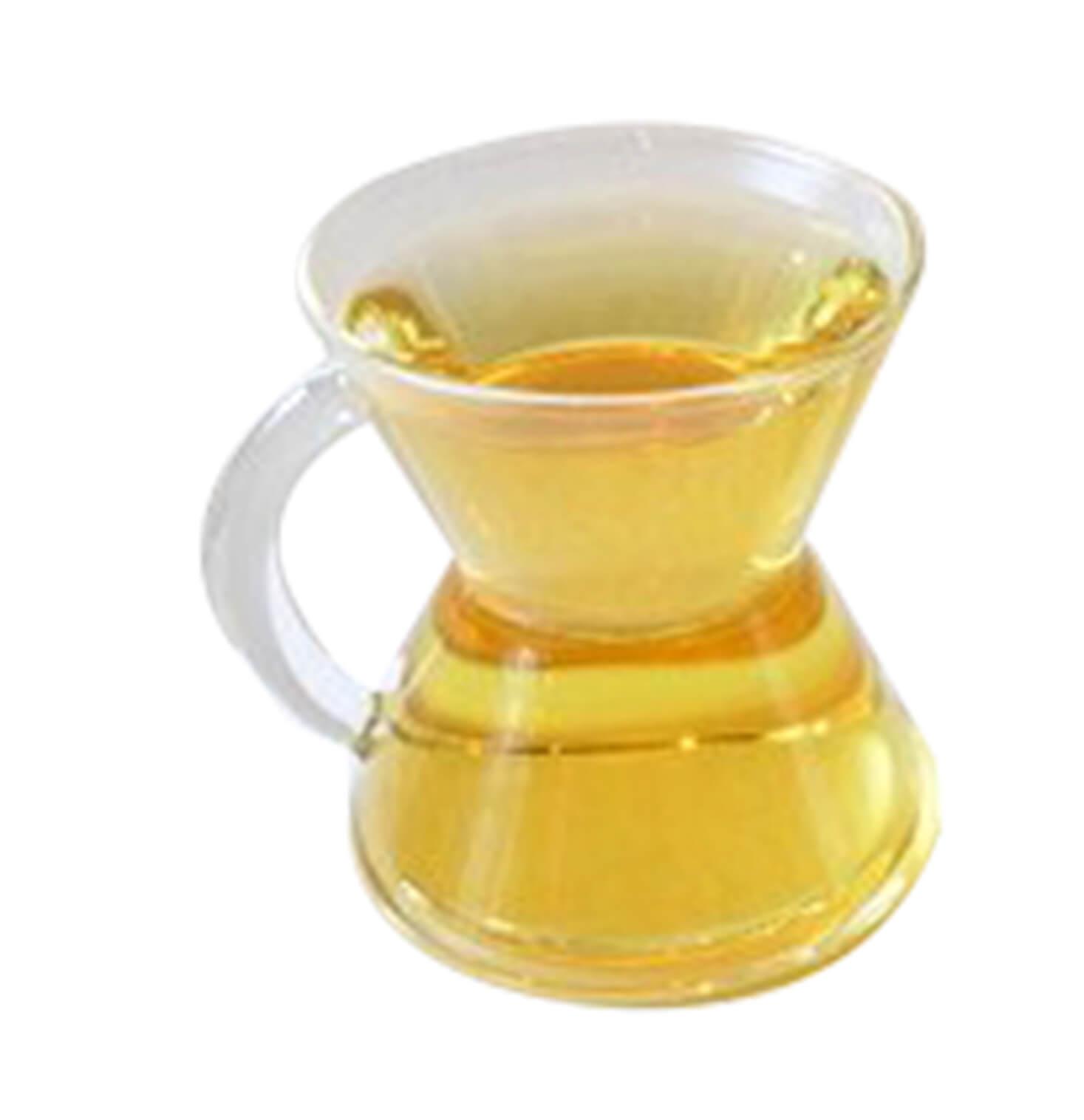 Handblown glass mug