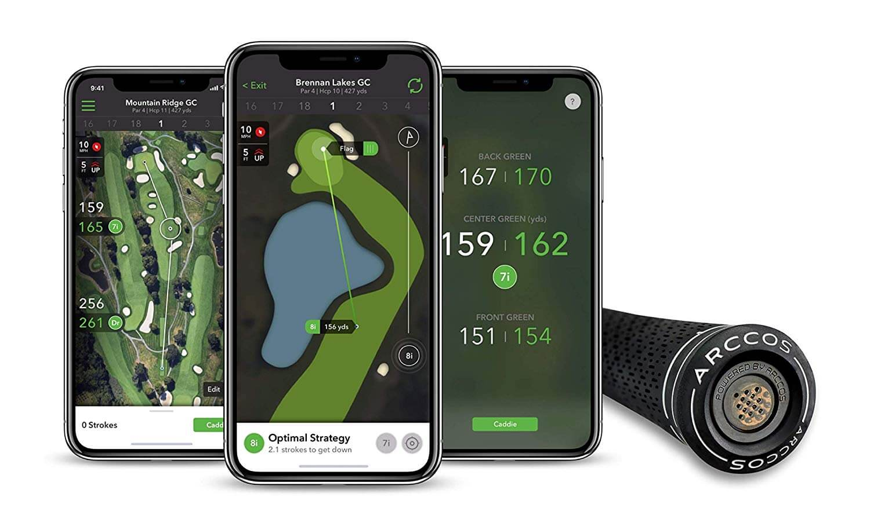 Arccos Smart Grips golf tracker