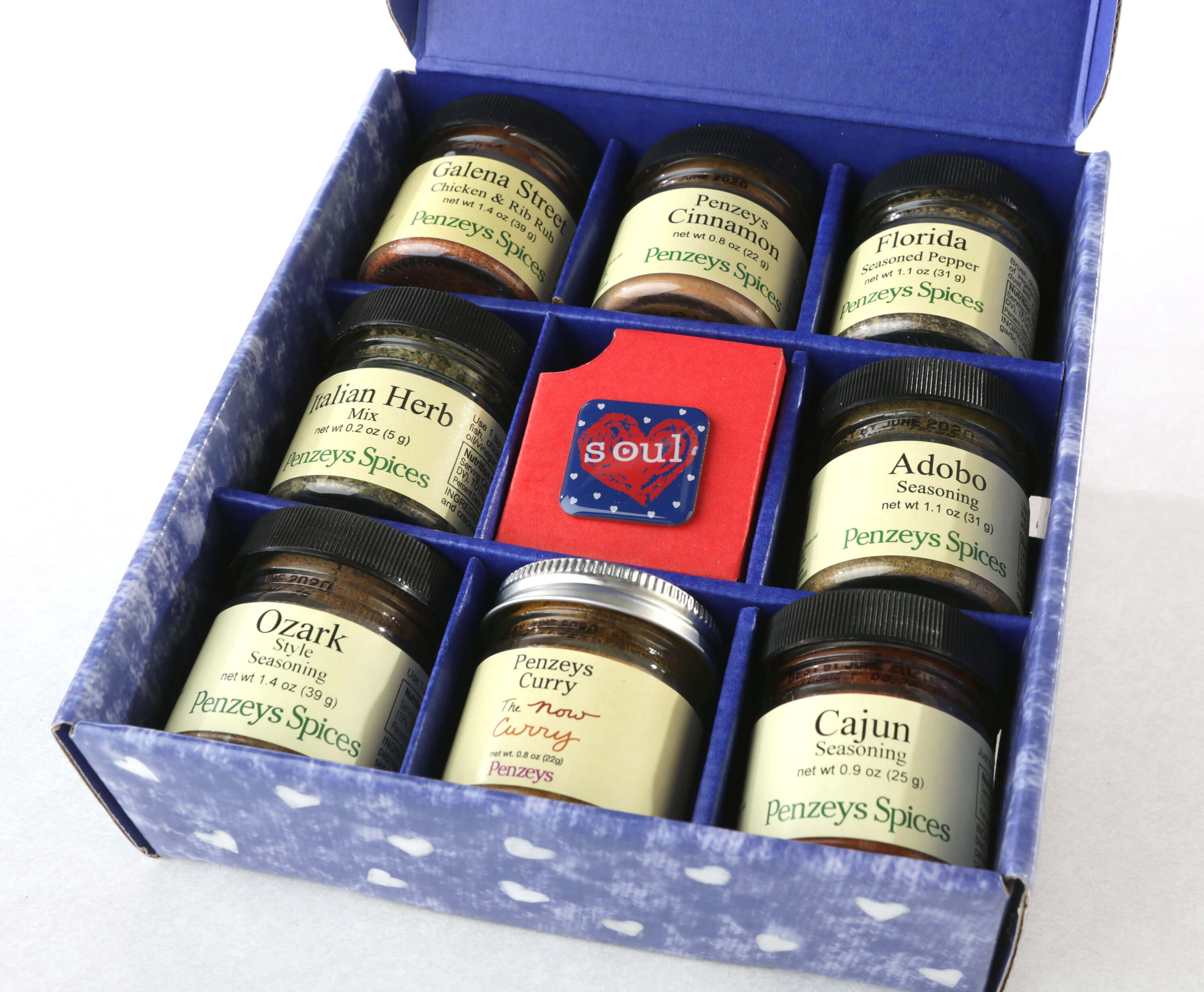 American Heart and Soul Spice gift box