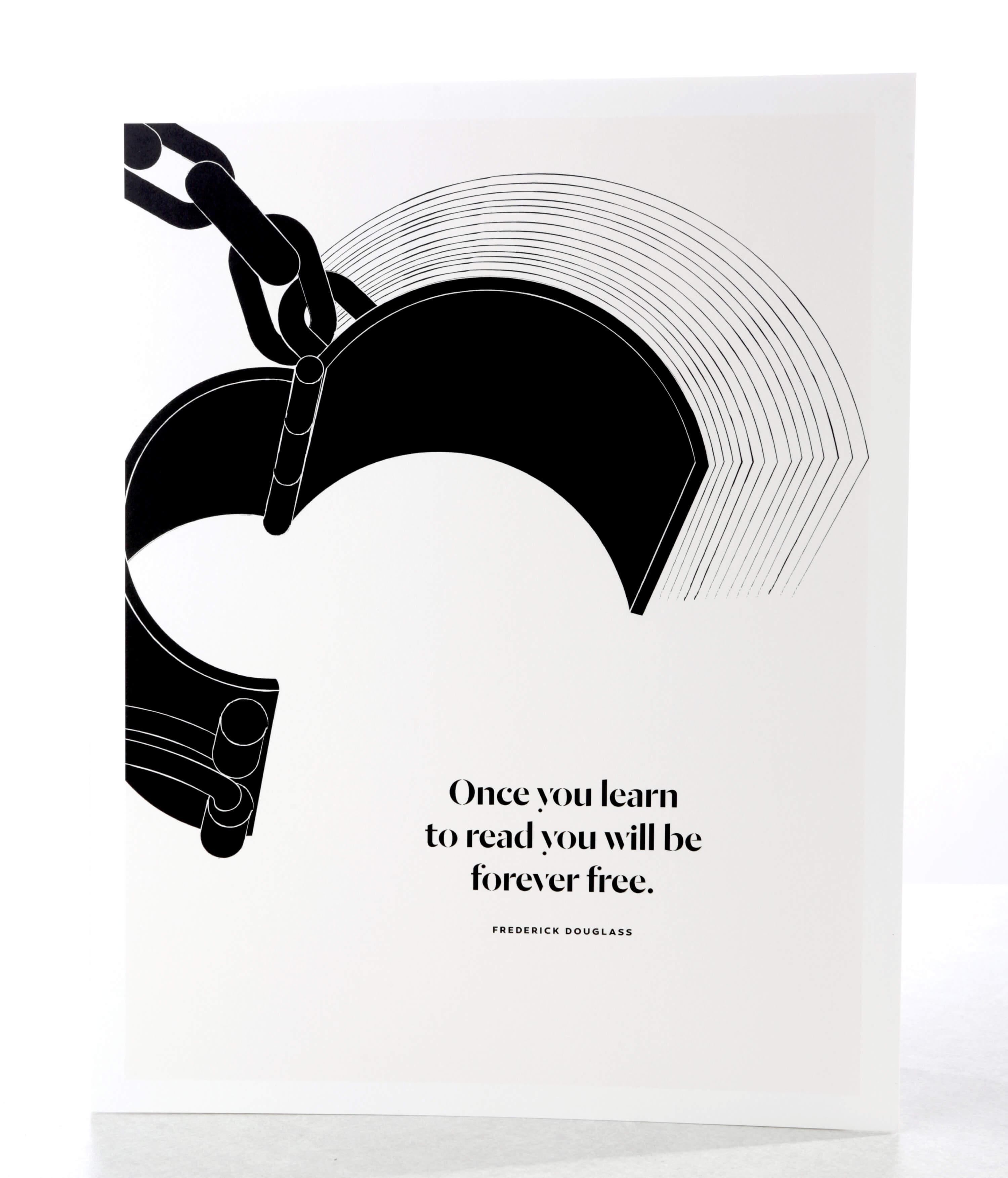 Literary art print