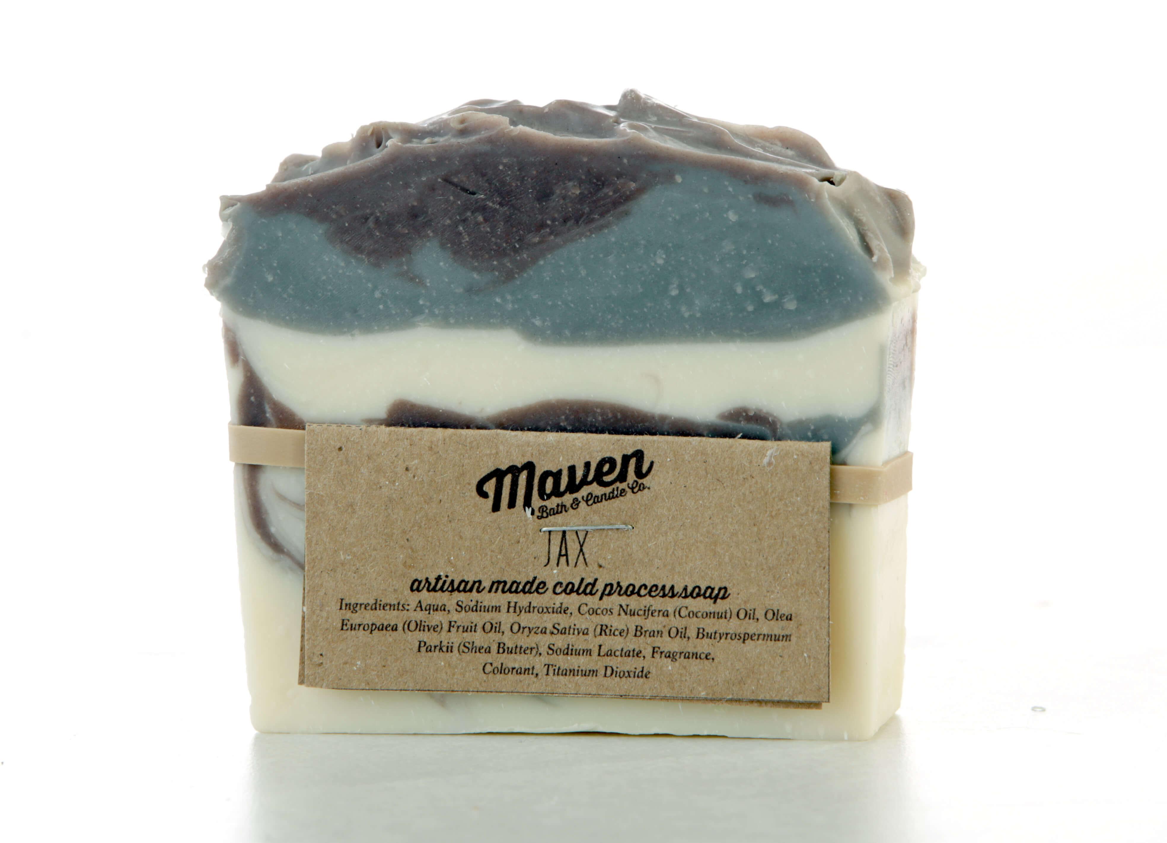 Maven Jax artisan-made cold process soap