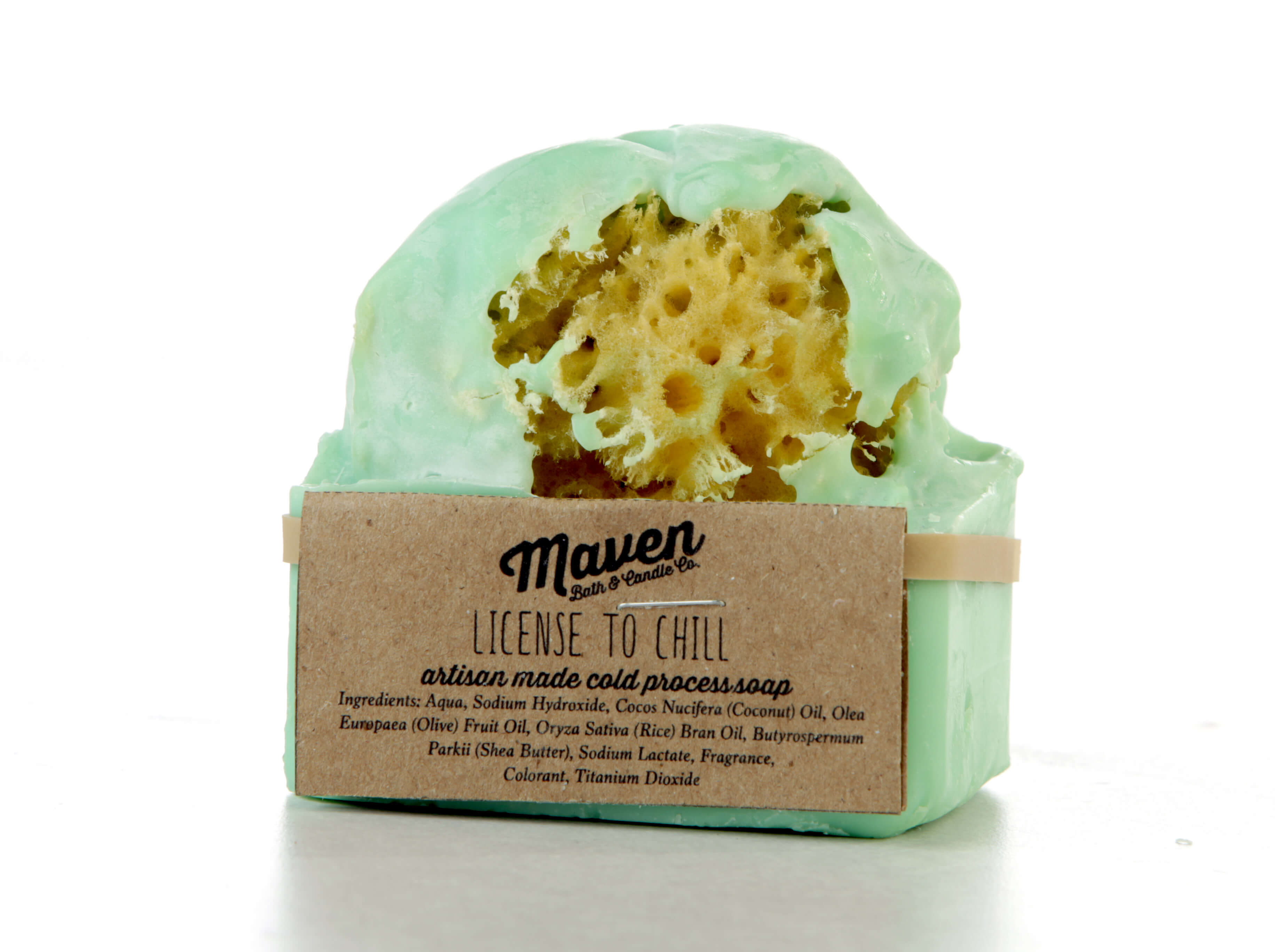 Maven License to Chill artisan-made cold process soap