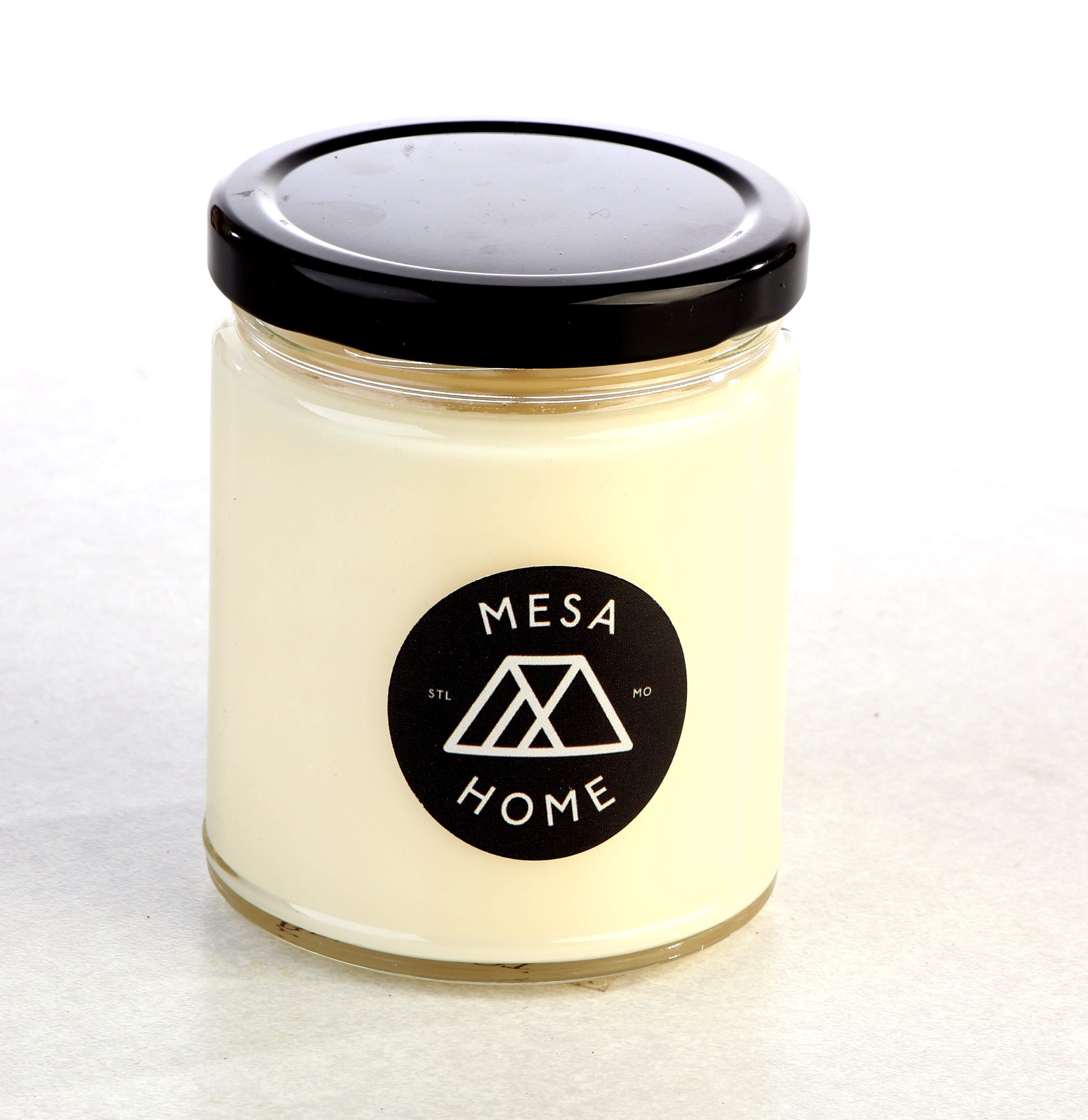 Bergamot and ginger scented candle