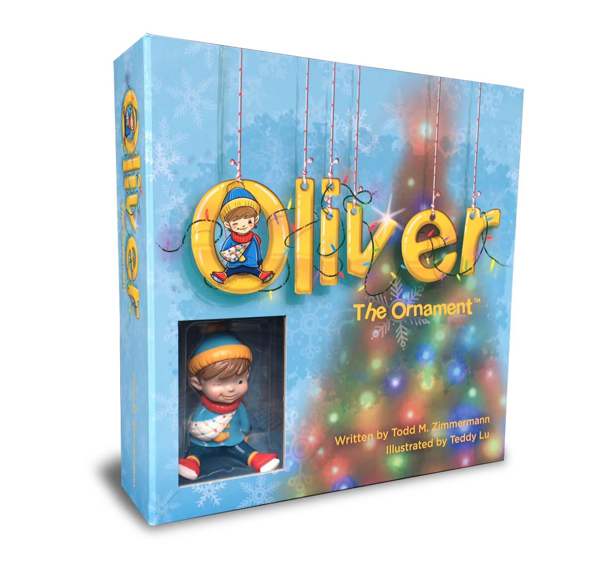 Oliver the Ornament gift set