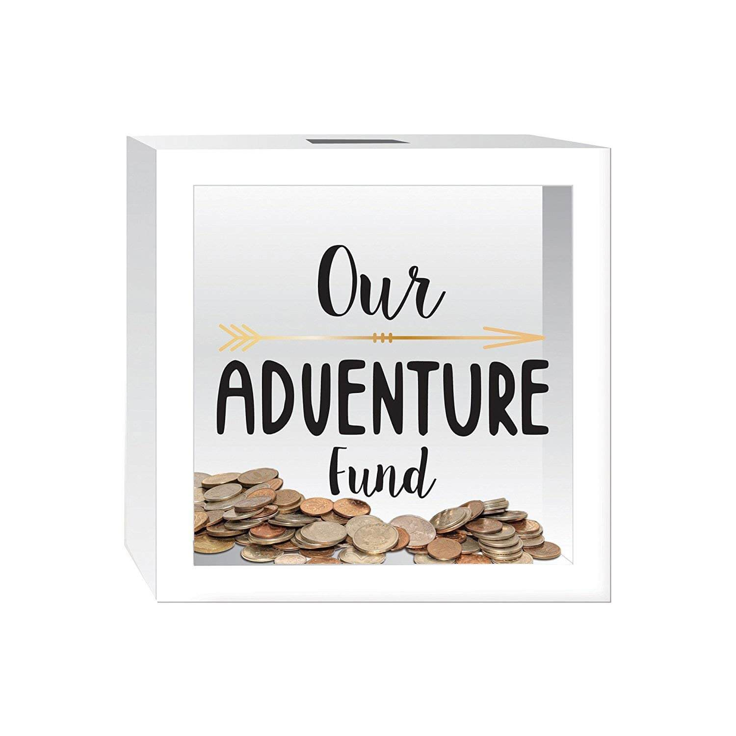 Our Adventure Fund savings bank