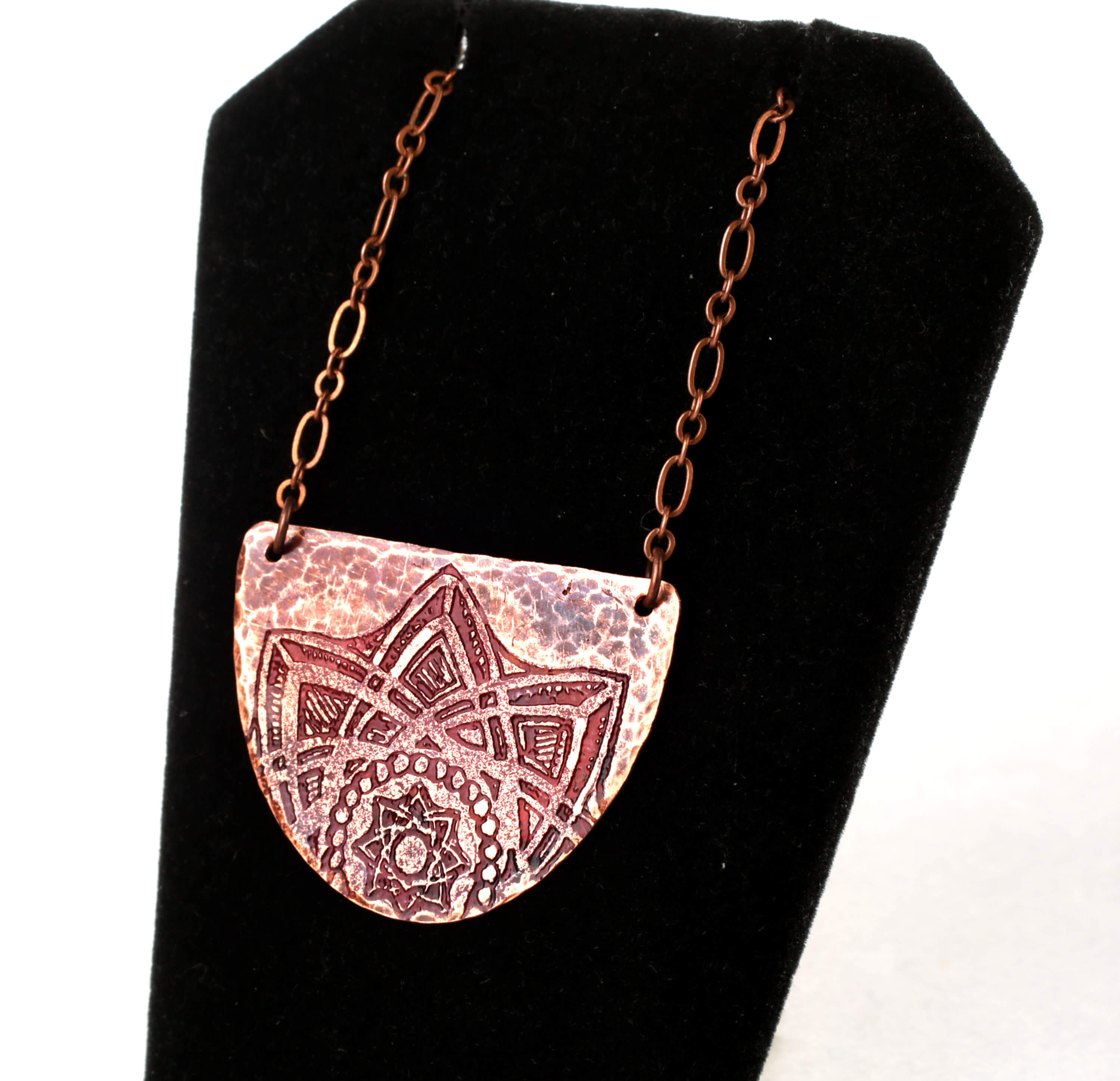 Reclaimed copper pendant by Trash to Treasure