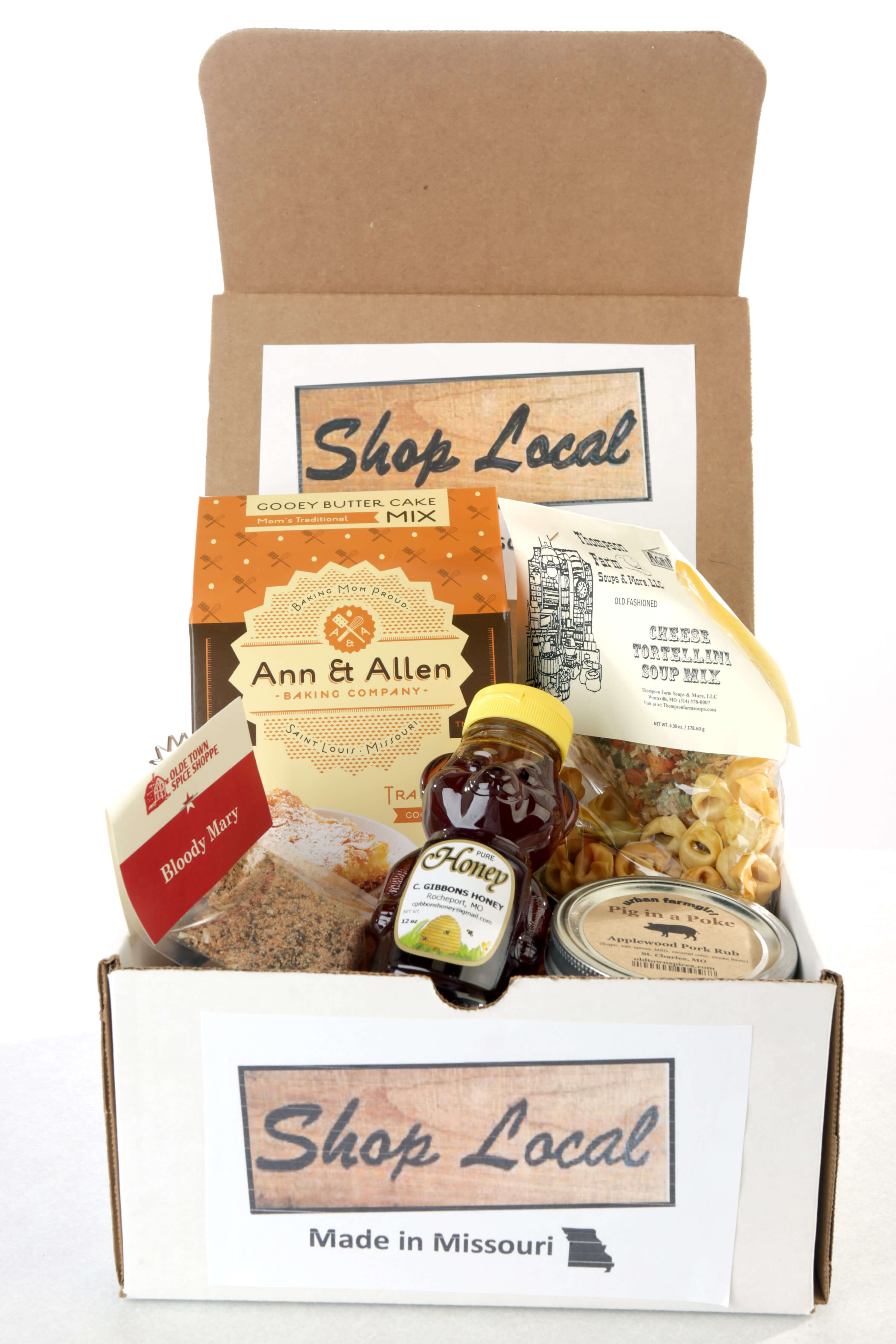 Shop Local gift box