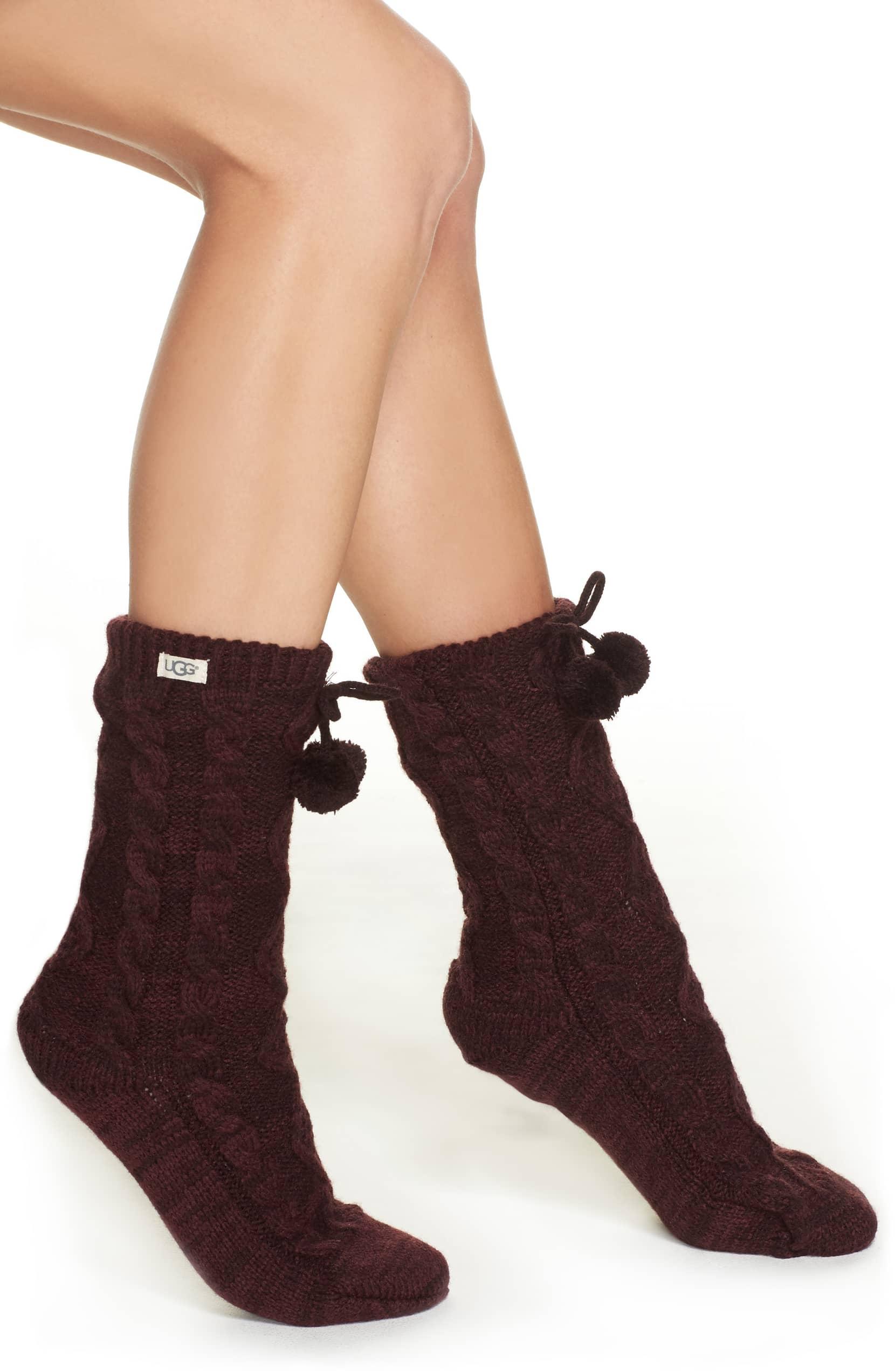 UGG fuzzy socks