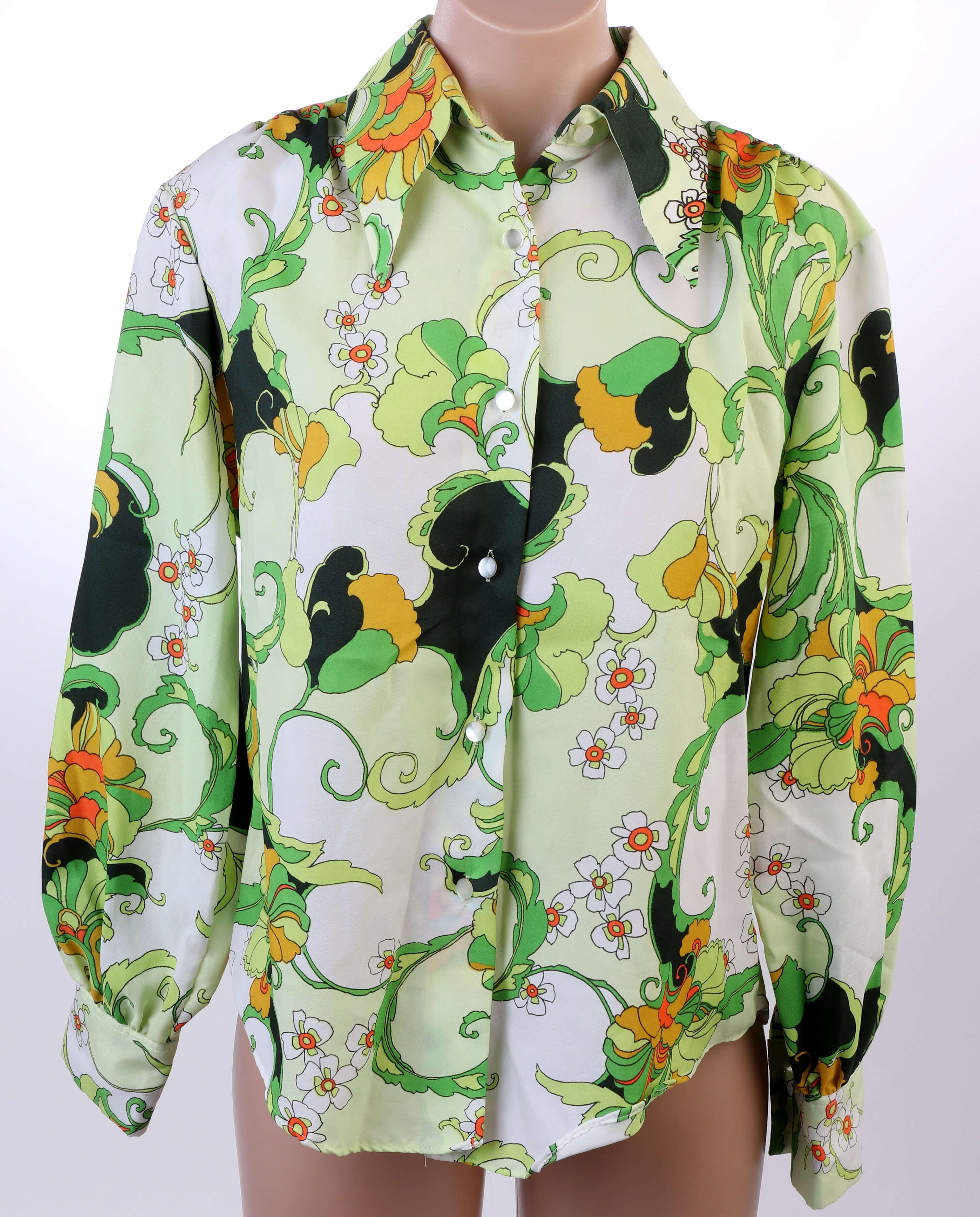Vintage polyester shirt