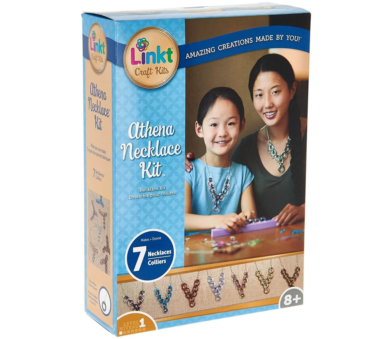 Athena Necklace Kit by Linkt Craft Kits