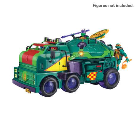 Rise of the Teenage Mutant Ninja Turtles Tank